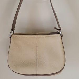 DKNY handbag leather! Authentic! Women Tan/Brown